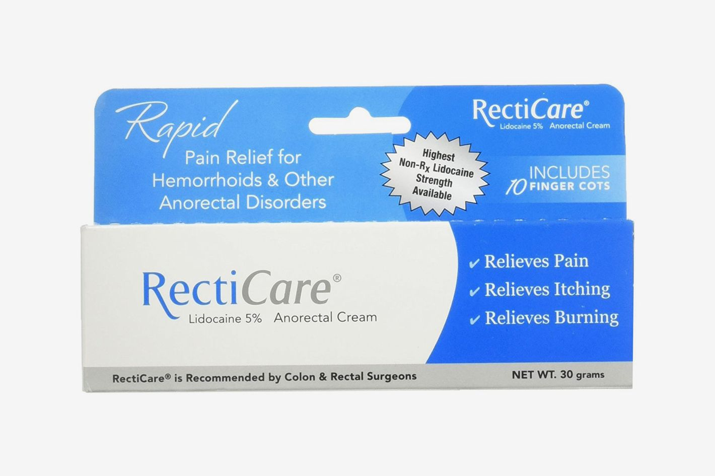 Recticare Pain Relief for Hemorrhoids and Other Anorectal Disorders