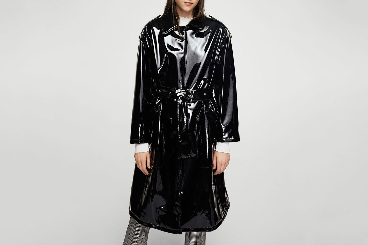 Belted Vinyl Trench