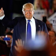 Donald Trump Holds Campaign Rally in Cincinnati Ahead Of Ohio Primary