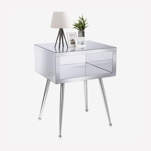 SSLine Mirrored Side Table