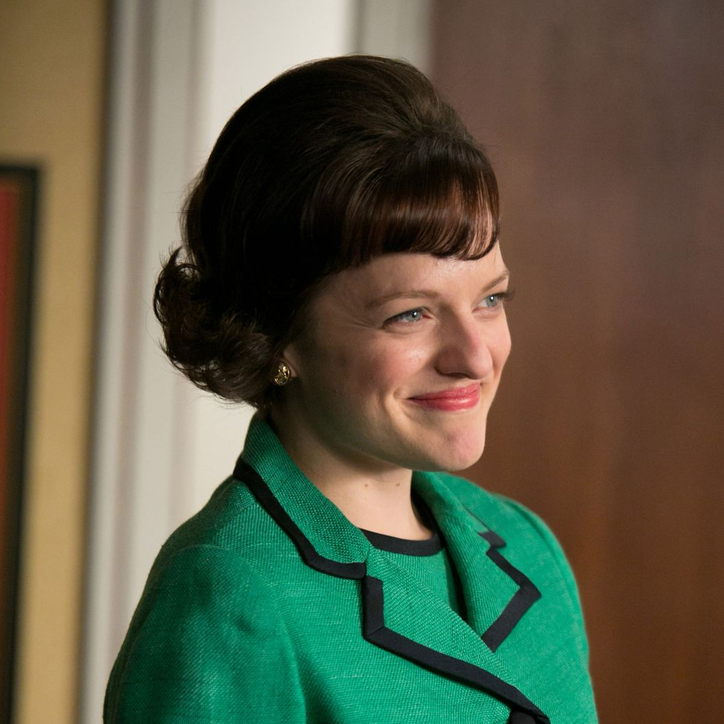 Peggy Olson (Elisabeth Moss) - Mad Men _ Season 6, Episode 11 _ 'Favors' - Photo Credit: Jaimie Trueblood/AMC