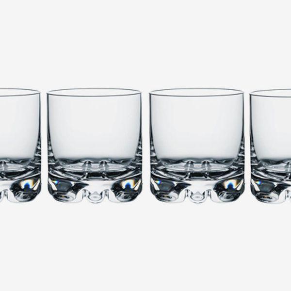 Orrefors Erik Set of 4 Old-Fashioned Glasses