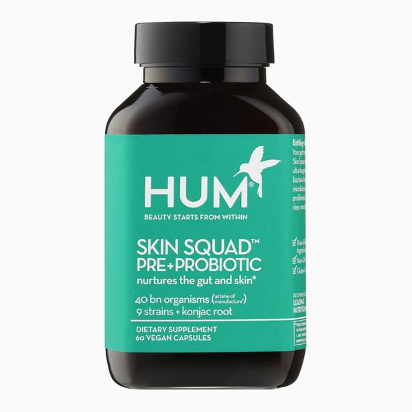 HUM Nutrition Skin Squad™ Pre + Probiotic Clear Skin Supplement