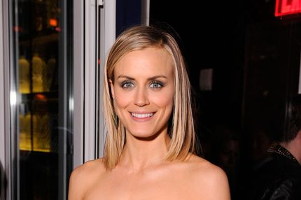 "Actress Taylor Schilling attends the Cinema Society & Men's Health screening of ""The Lucky One""  after party at The Jimmy at the James Hotel on April 19, 2012 in New York City."