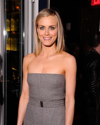 Actress Taylor Schilling attends the Cinema Society & Men's Health screening of