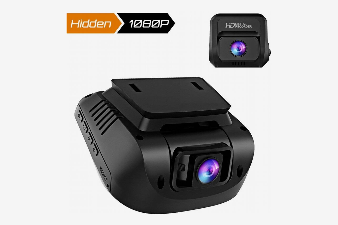 "Crosstour 1080p Full HD Front and Rear Dual Lens Dash Cam, 3"" Screen"