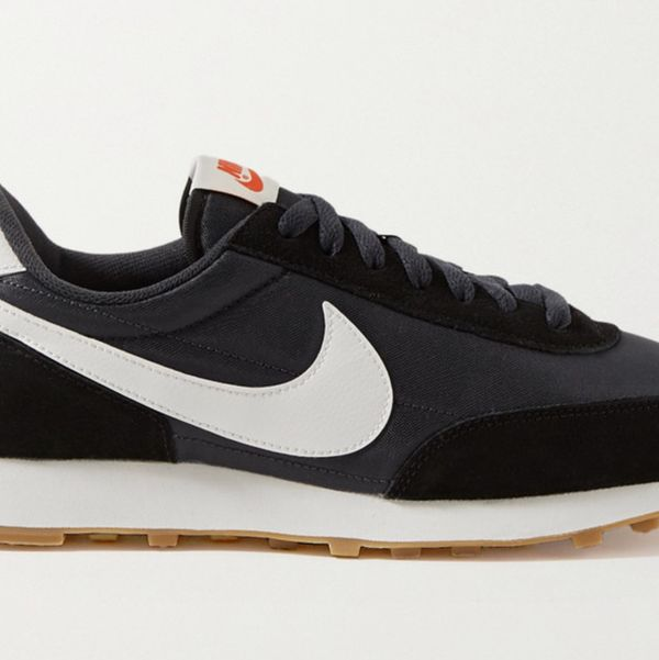 Nike Daybreak Shell, Suede, and Leather Sneakers
