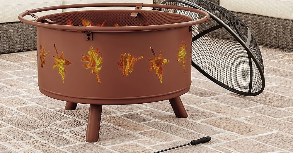 Just in Time for Campfire Season, We Found This Firepit On Sale for $100