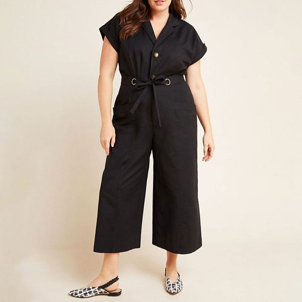 Anthropologie Elizabeth Wide-Leg Jumpsuit