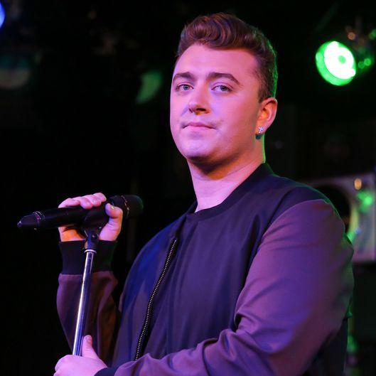 Sam Smith Performs At The Red Bull Sound Space At 97.1 AMP Radio In LA