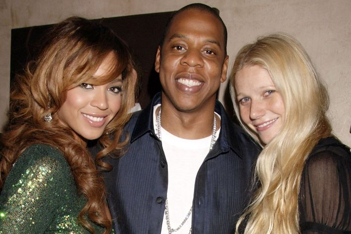 Beyoncé Jay Z And Their Friend Gwyneth Paltrow Photo Dave M Benett Getty Images
