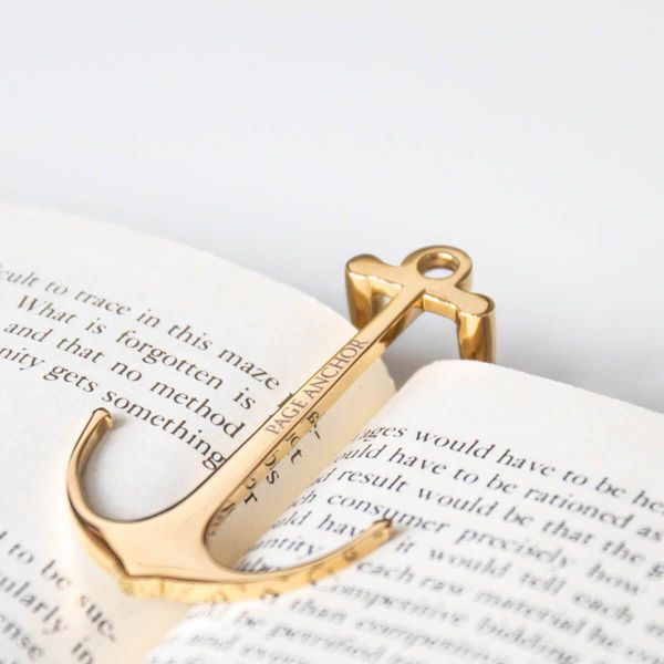 Page Anchor Signature Gold