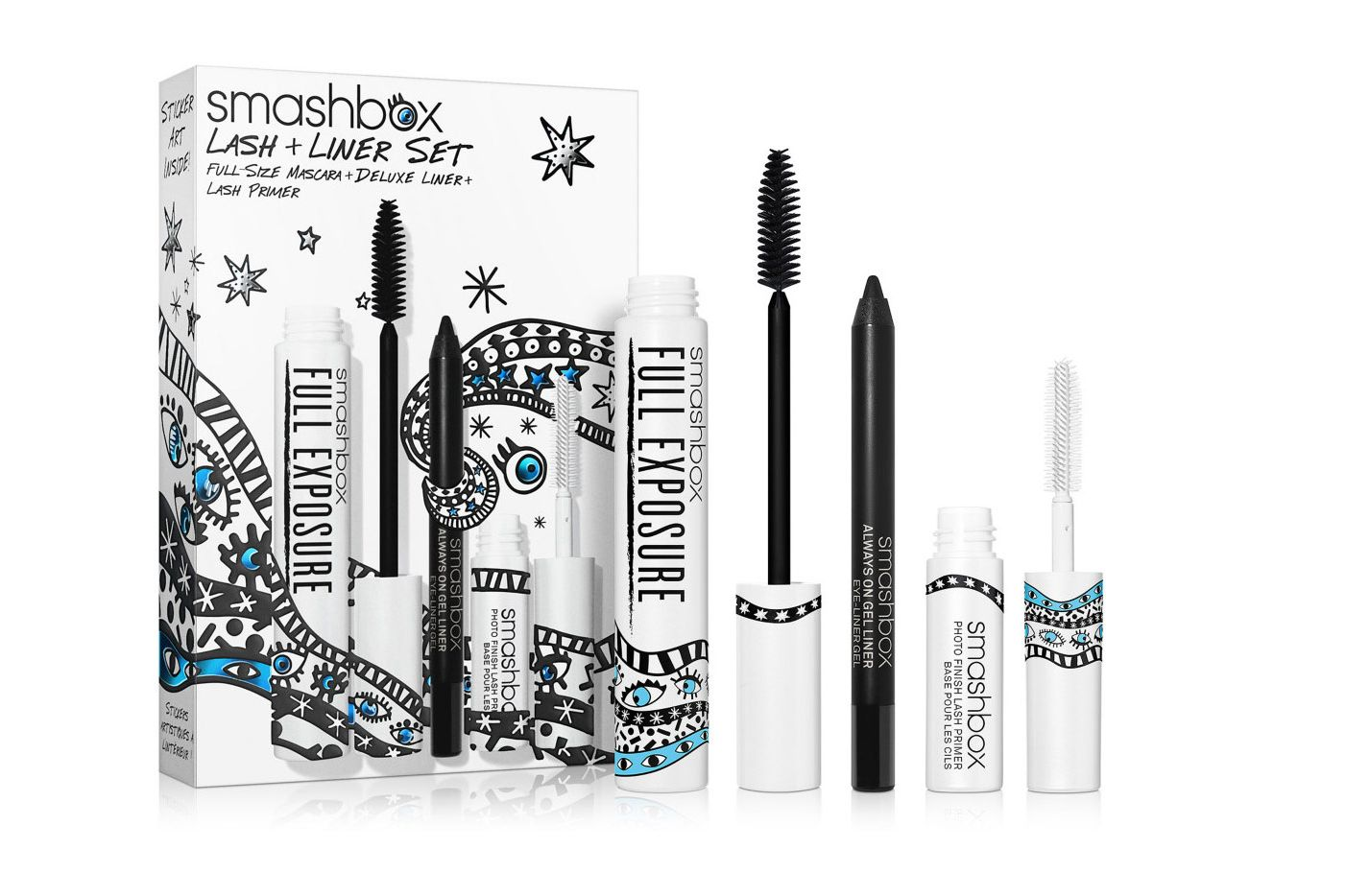 SMASHBOX Drawn In. Decked Out. Lash + Liner Set