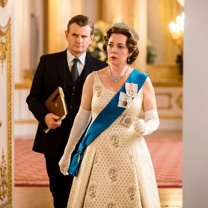 Olivia Colman as Queen Elizabeth in The Crown.