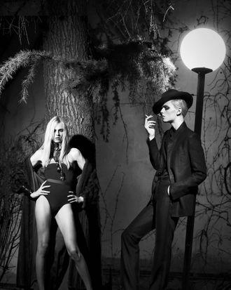 Andrej Pejic for <em>Candy</em>.