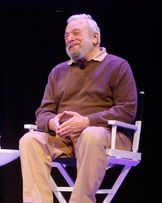 The New Yorker Festival 2014 - Stephen Sondheim In Conversation With Adam Gopnik