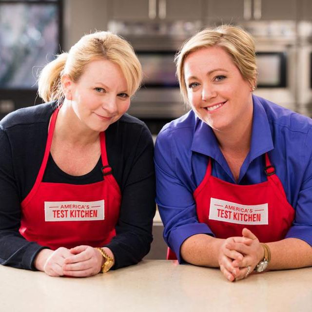 The new hosts, Bridget Lancaster and Julia Collin Davison.