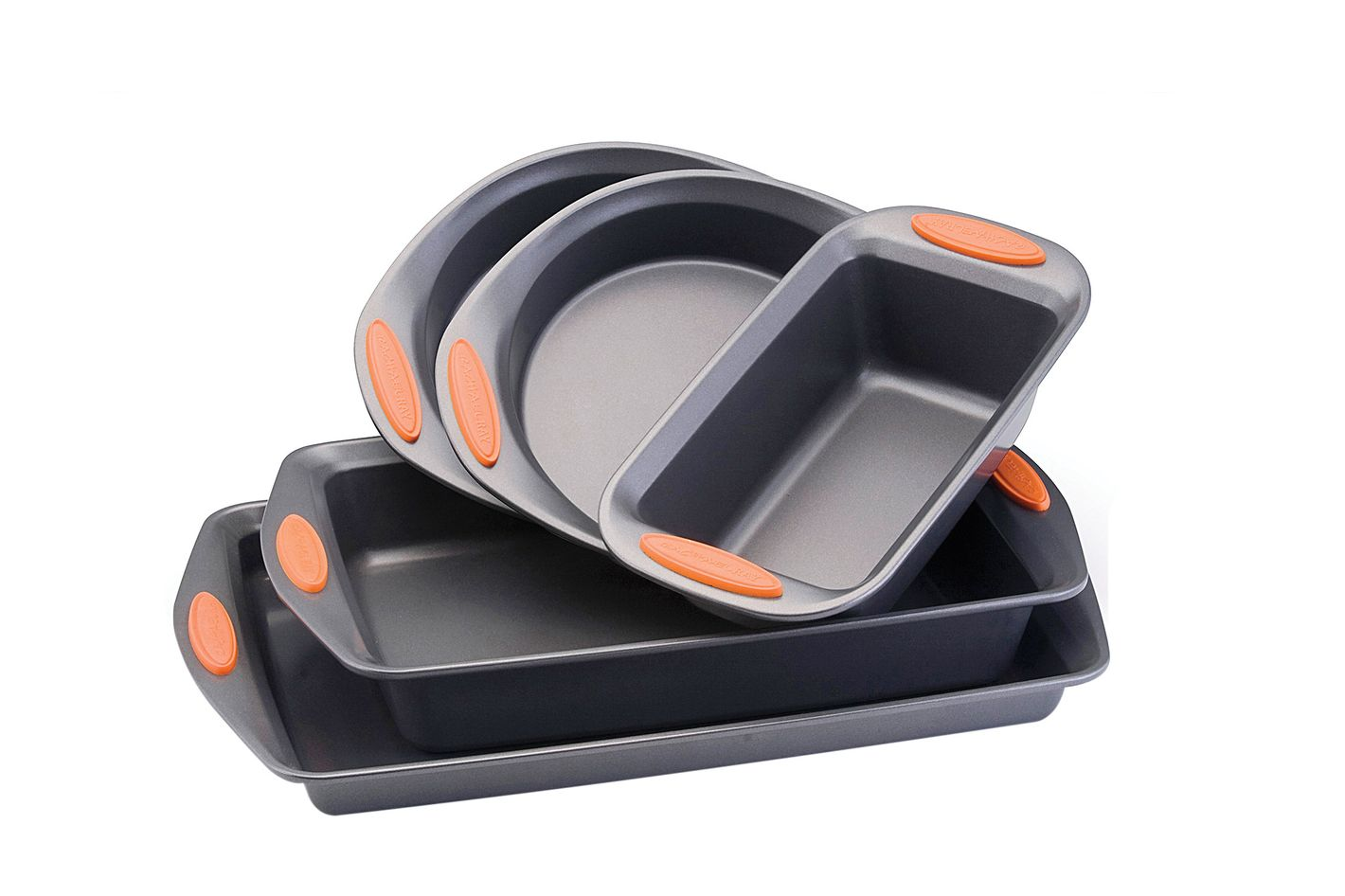 Rachael Ray set of five nonstick baking pans