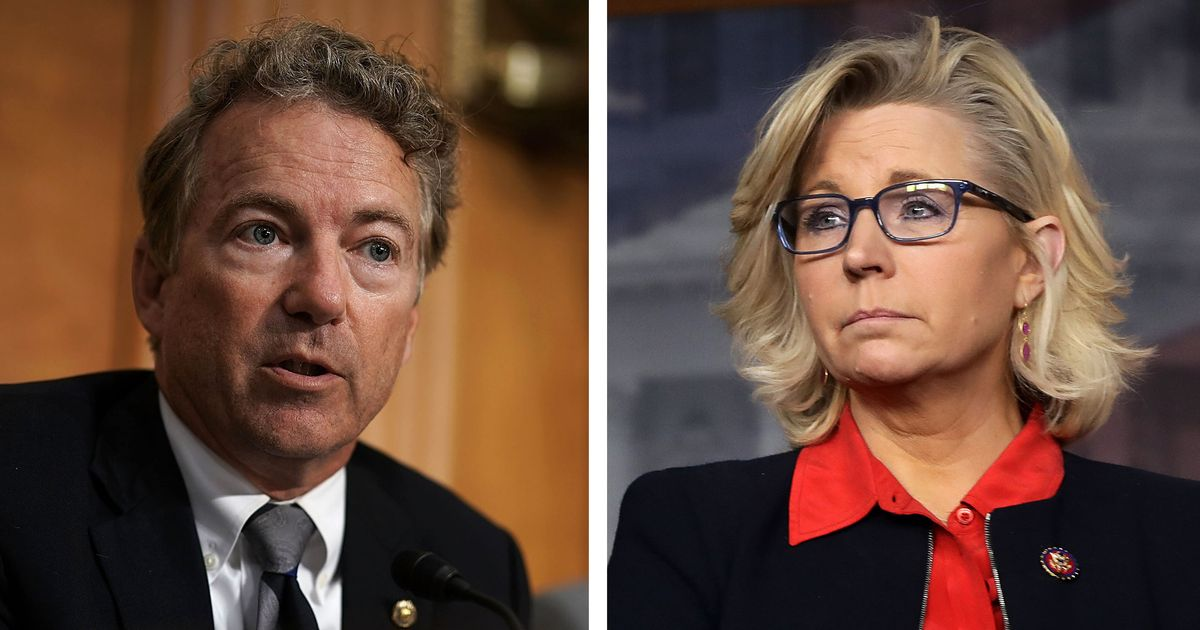 Watch Liz Cheney, Rand Paul Fight Over Who Trump Loves More