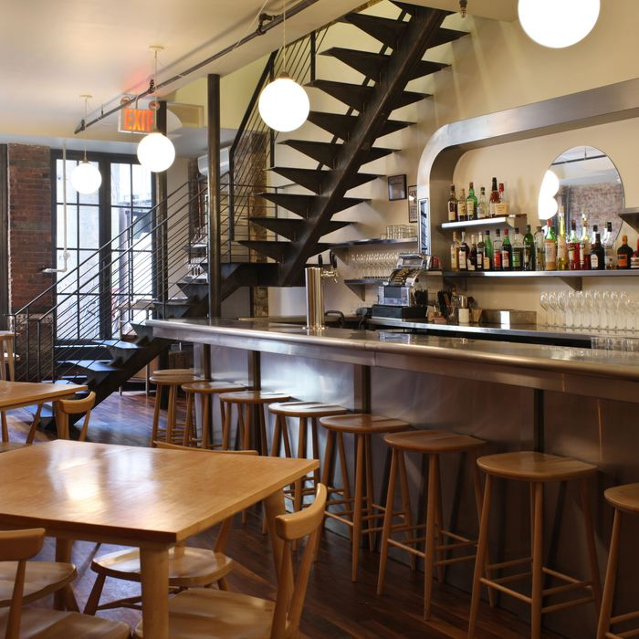 Though reservation-only, Le Restaurant accepts walk-ins at the bar.