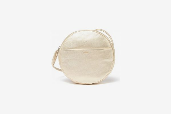 Baggu Circle Leather Purse