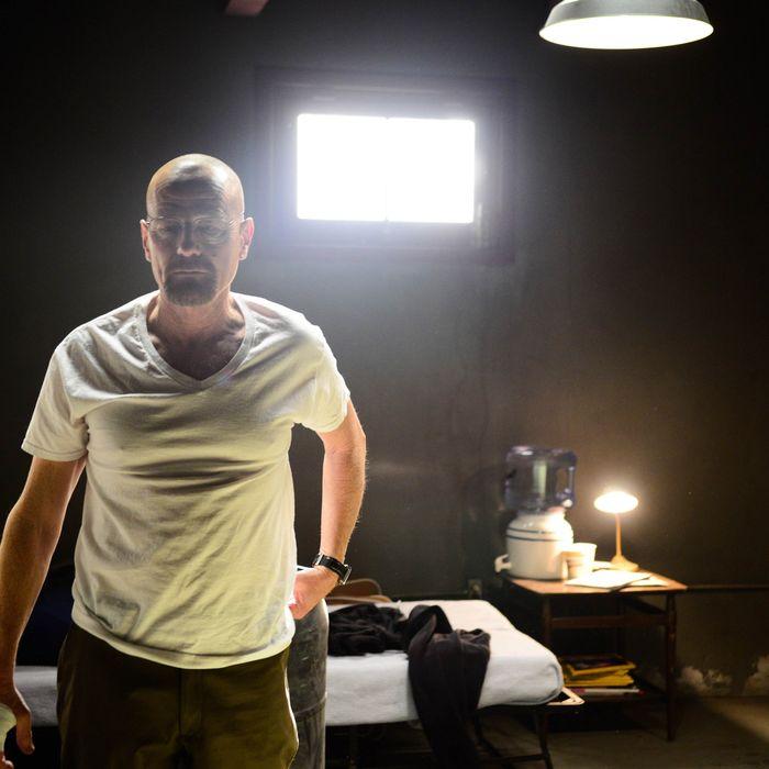 Walter White (Bryan Cranston) - Breaking Bad _ Season 5, Episode 15 - Photo Credit: Ursula Coyote/AMC