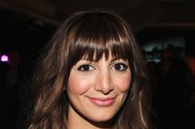Actress Nasim Pedrad attends Google & Hollywood Reporter Host an Evening Celebrating The White House Correspondents' Weekend on April 27, 2012 in Washington, DC.