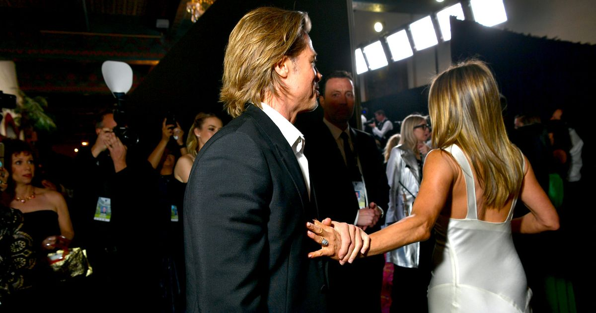 Every Picture of Brad Pitt and Jennifer Aniston at the SAG Awards