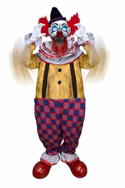 Tekky Toys 6.5-Foot Animated Startling Arms Clown