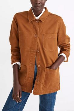 Madewell Hollyhurst Oversized Chore Jacket