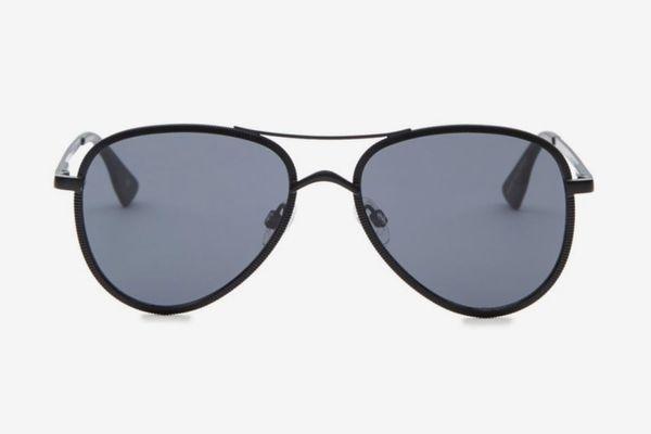 Le Specs Luxe 55MM Empire Aviator Sunglasses