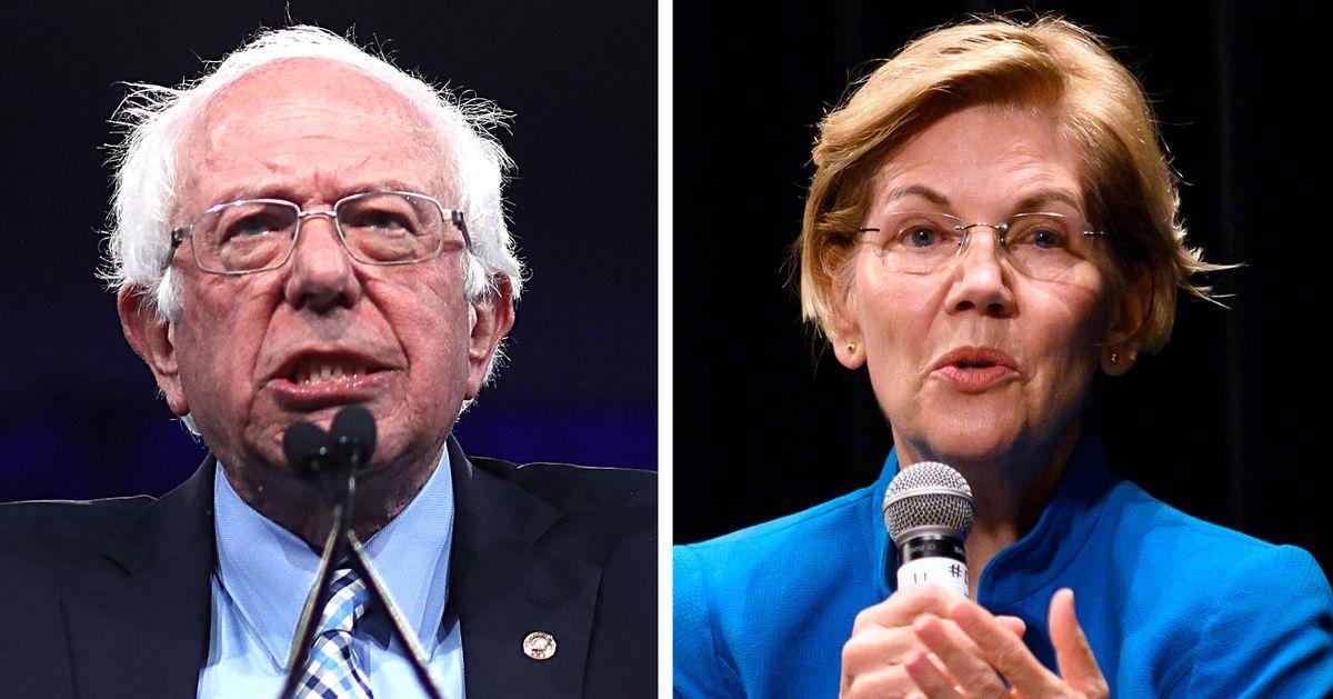 Voters See Ideological Gap Between Warren and Sanders