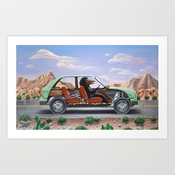 Shyama Golden, 'Road Trip'