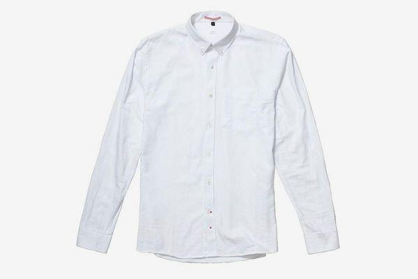 Boy/'s White 100/% Cotton Dress Shirt Size 3 to 20