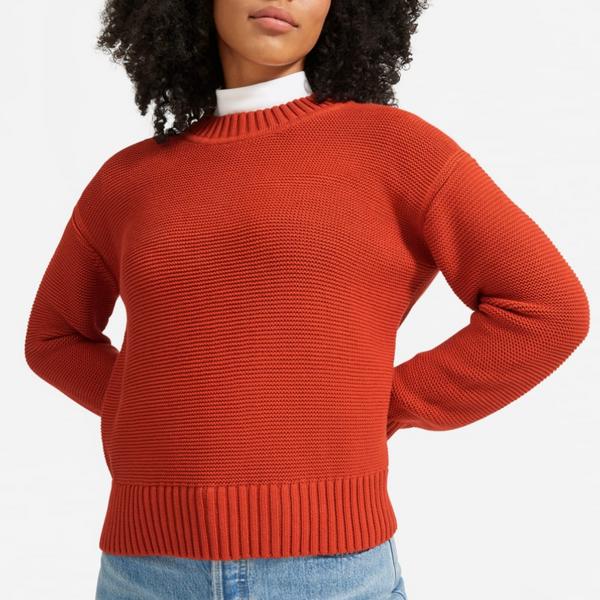 Everlane Link-Stitch Crewneck Sweater