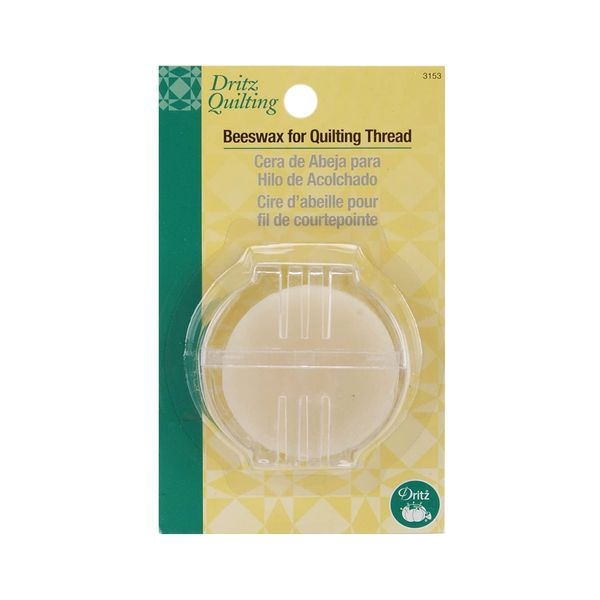 Dritz Beeswax for Quilting Thread with Holder