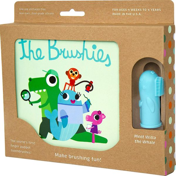 The Brushies Baby and Toddler Toothbrush and Storybook