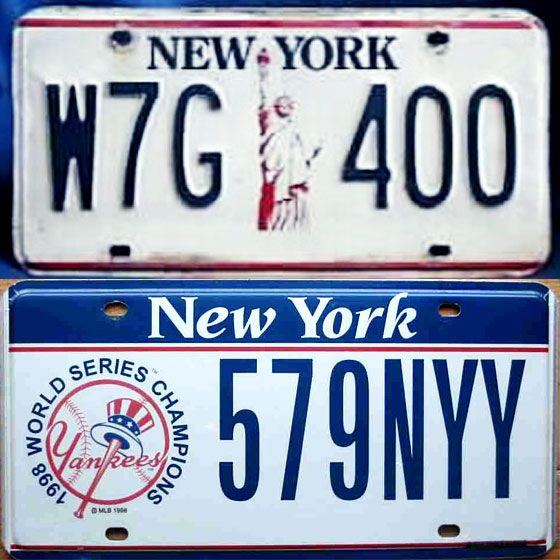 state of the plate: 100 years of new york license plate designs -- nymag