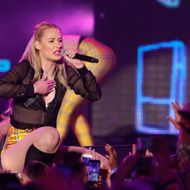 Rapper Iggy Azalea performs onstage at the 2014 mtvU Woodie Awards and Festival on March 13, 2014 in Austin, Texas.