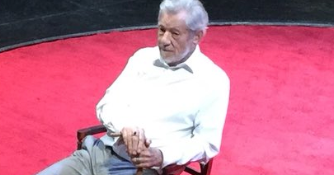 Ian McKellen Hurt His Leg and Turned King Lear Into a Q&A