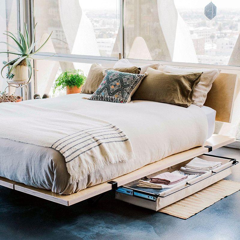 Modern Platform Beds With Storage, Platform Beds With Storage Queen Size Bed