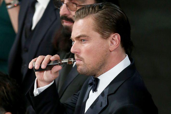 Leo loves that #vapelife.