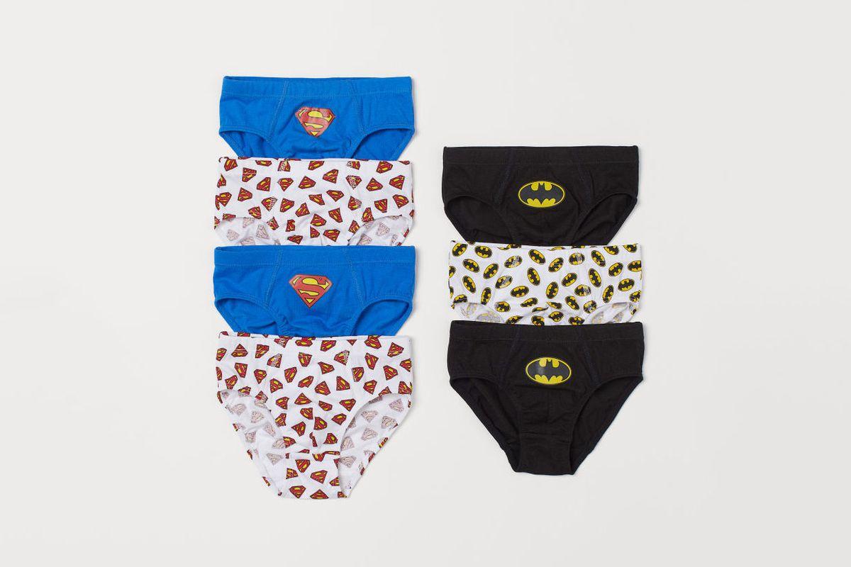7pr Toddler Boys/' Hanes Color Briefs Underwear Size 4T
