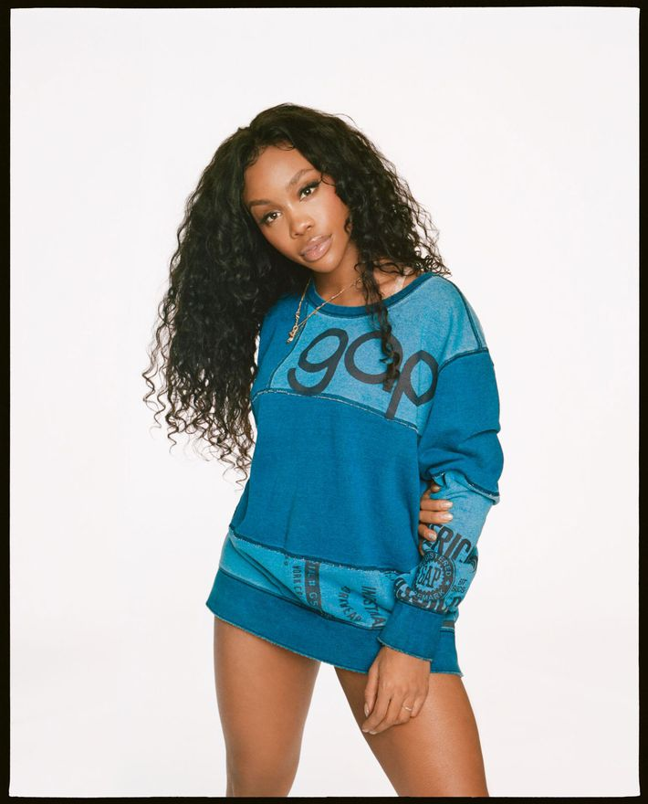 c8f5164250db SZA on the Grammy Awards and Her New Gap Campaign
