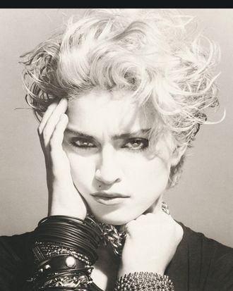 The cover of <em>Madonna</em>.