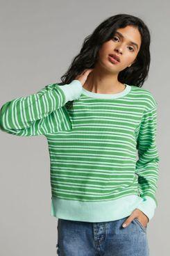 Maeve Diane Striped Pullover
