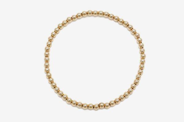 Alexa Leigh 3mm Gold Ball Bracelet