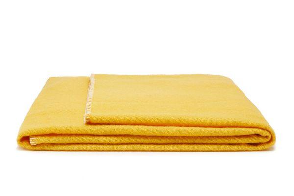 Tekla Fabrics Whipstitched Medium Virgin-Wool Blanket