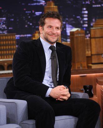 NEW YORK, NY - FEBRUARY 19: Bradley Cooper visits