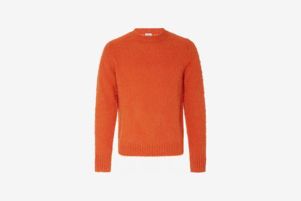 Aspesi Men's Ribbed-Knit Wool Sweater
